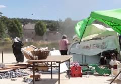 フランスの野外フェスティバルで突風襲撃被害