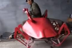 中国人、カニ型ロボットの開発に成功