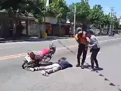 交通事故に見せかけたドッキリプロポーズ