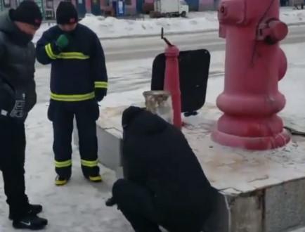 -41℃を記録した中国、消火ポンプが凍結